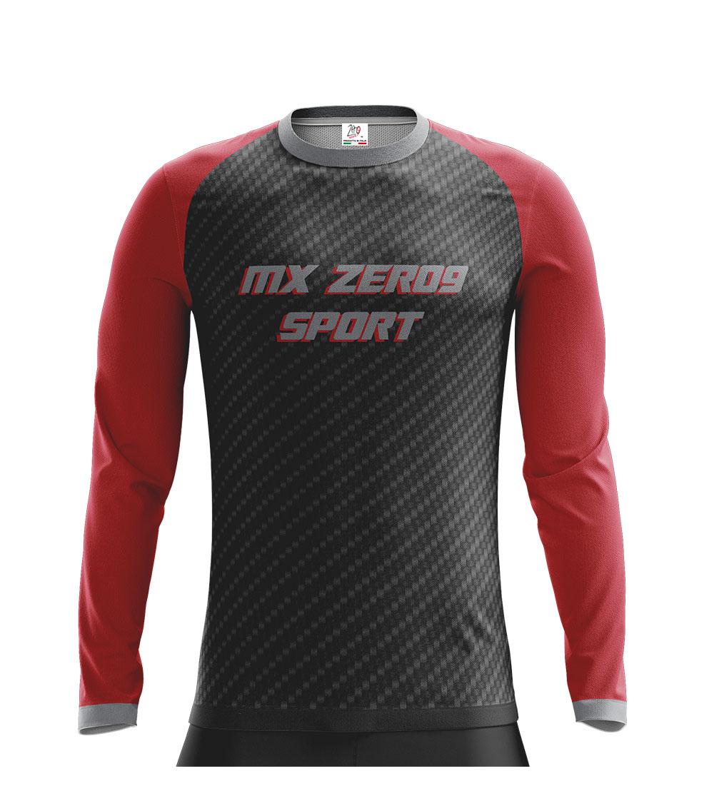 Motocross - Modell raglan ärmel