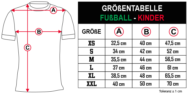 gr    entabelle   FU  BALL   KINDER DE Zero9Sport